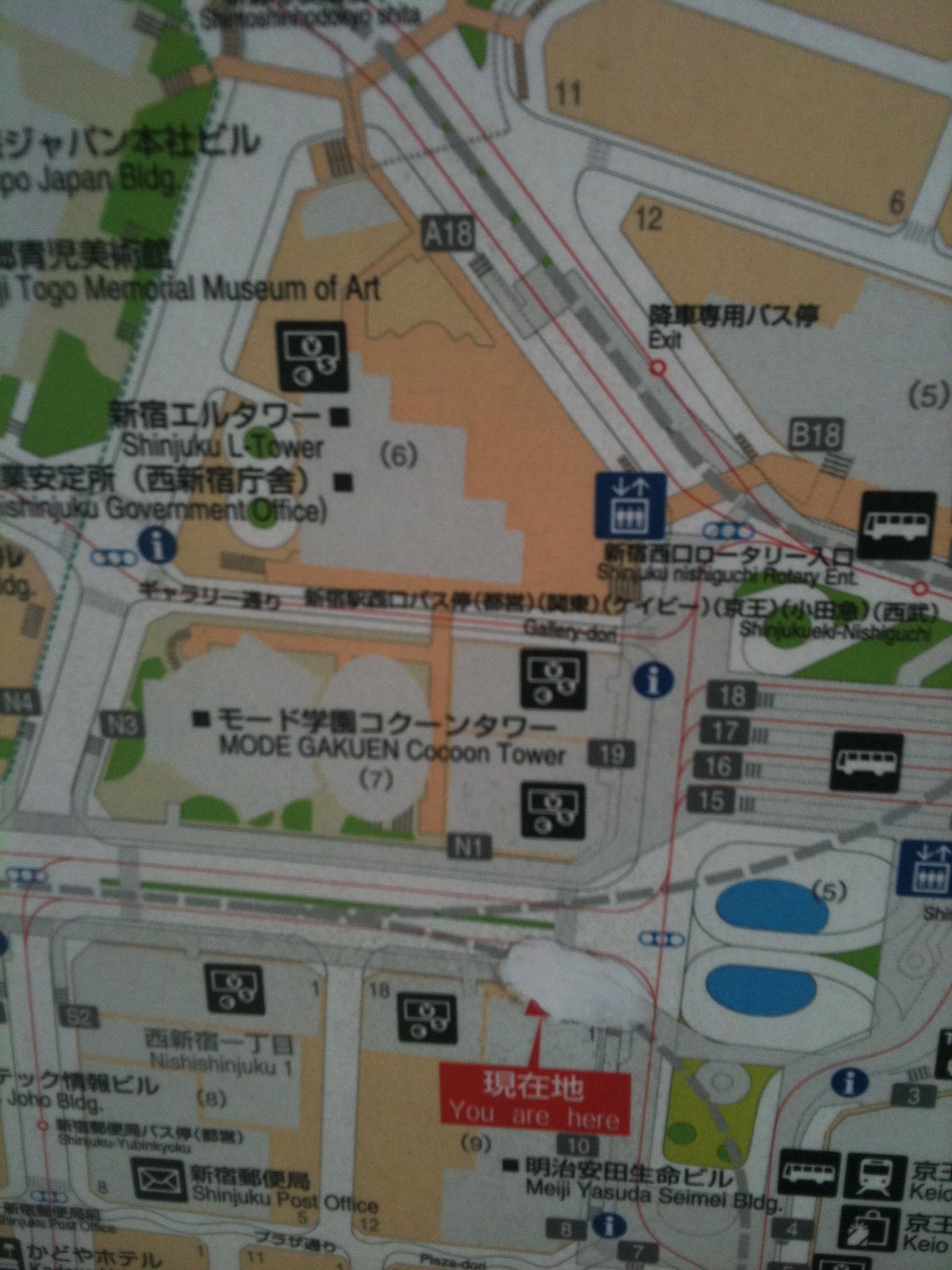 Mapas por la calle