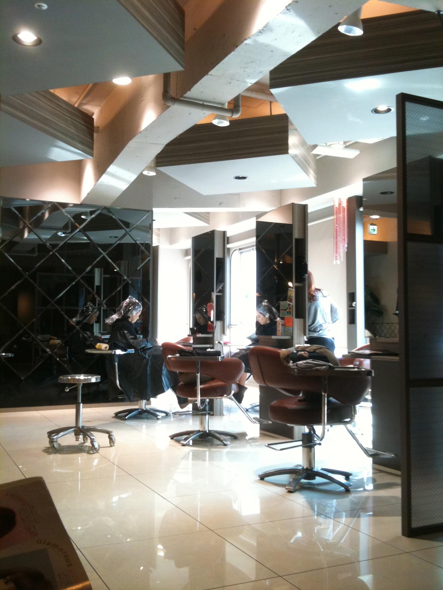 Vista general de la peluquería