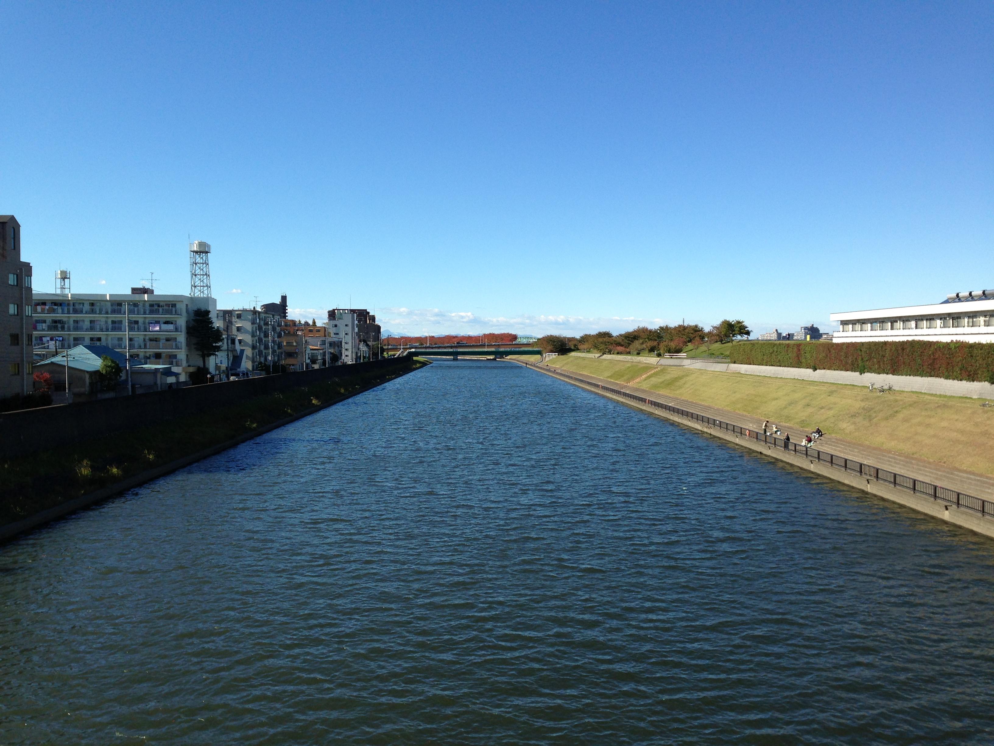 Vista general del puente hacia la izquierda