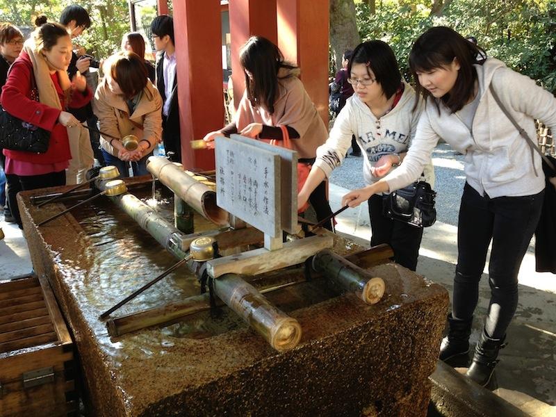 Agua de purificación