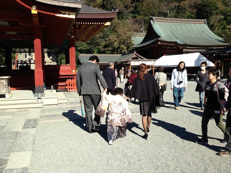 Niños en el templo