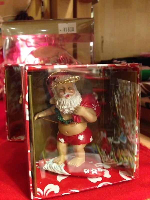Papa Noel surfero