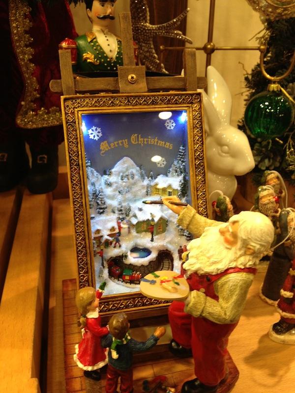Artículos de decoración de Navidad