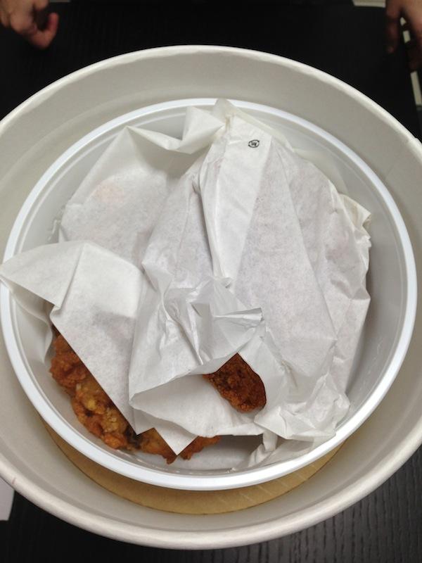 Unboxing del Cubo de Nochebuena del KFC - pollo