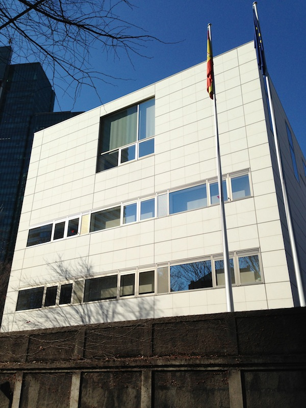 Edificio de la embajada de España