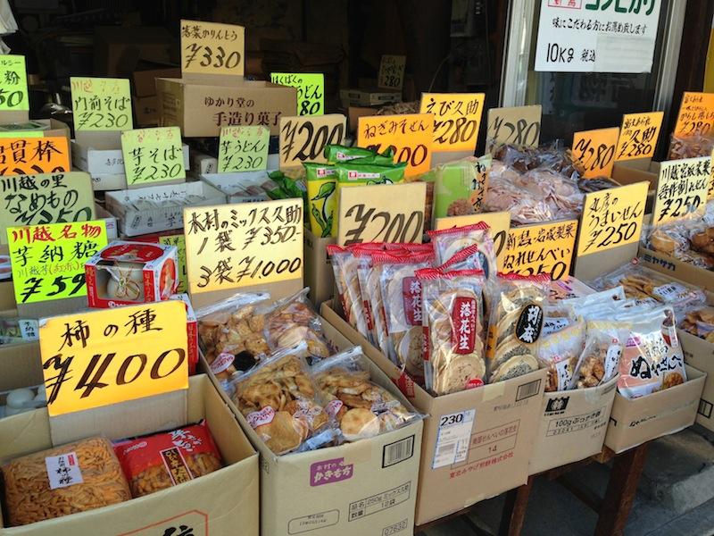 Tienda en Kawagoe